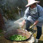 四万十流釜炒り茶の作り方