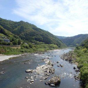 一級河川、四万十川